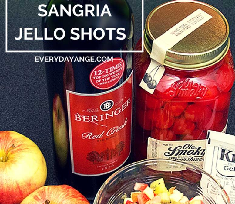 How to Make Sangria Jello Shots