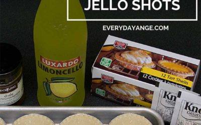 If You Like Lemon Meringue Pie You'll Love These Jello Shots