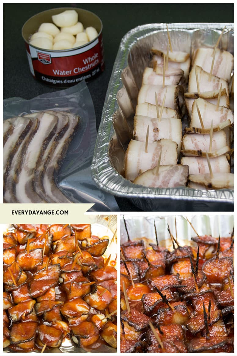 bacon wrapped water chestnuts ingredients
