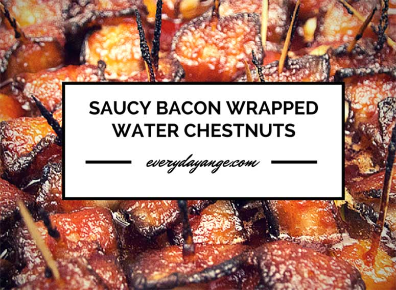 Easy Bacon Wrapped Water Chestnuts Make the Best Finger Foods