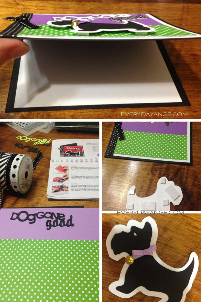 card making dog card for dog lovers
