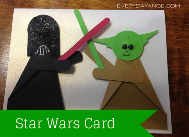 Easy Star Wars Birthday Card You'll Want to Keep